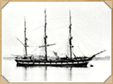 A typical New Zealand emigrant ship - NZSC Waitara (1863-1883)